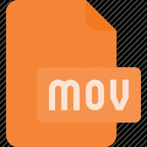 document, file, film, mov, video icon