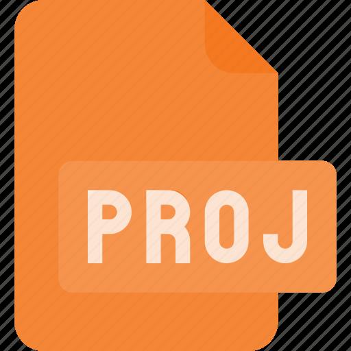 document, file, film, proj, project, video icon