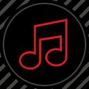listen, media, music, play icon