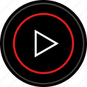 music, video, youtube icon