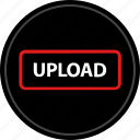 media, up, upload icon