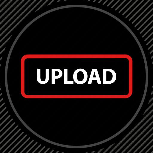 media, up, upload icon