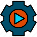 cogwheel, configuration, gear, setting icon