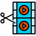 3, edition, video icon