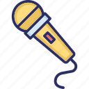 input device, media, microphone, output device, singing mic icon