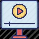 movie app, movie player, multimedia app, video folder, video player icon
