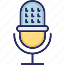 input device, mic, recorder, electronic microphone, recording tool icon