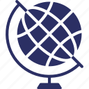 country globe, geography globe, globe, office globe, office supplies icon