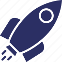 business launch, missile, project launch, startup, torpedo icon