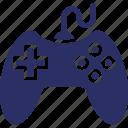 game remote controller, gamepad, joystick, video game equipment icon