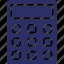 adding machine, calculator, digital device, mathematics calculator icon