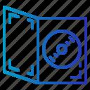 cd, dvd, movie, storage icon