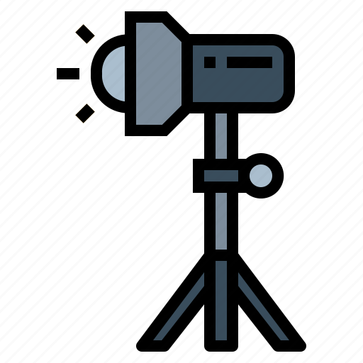 flash, light, studio icon