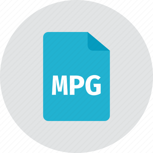 file, mpg icon