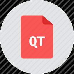 file, qt icon