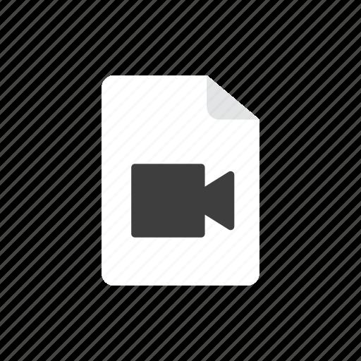 2, file, movie icon
