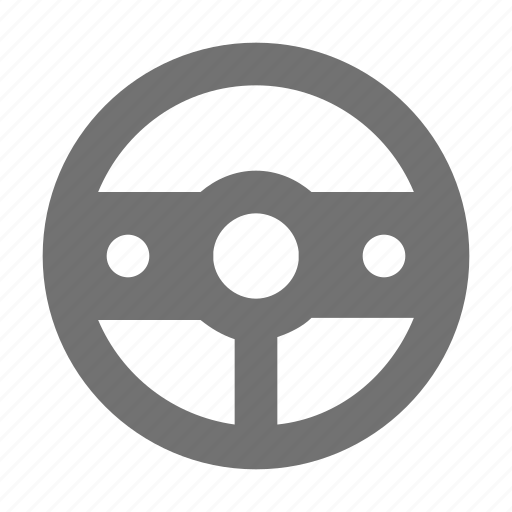 car drive, car steering, driving, steering, wheel steering icon