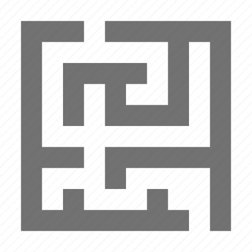 brain training, find way out, findway game, maze game, mind game icon