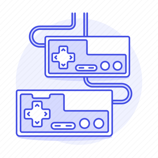 2, consoles, controller, famicom, famicon, game, gamepad, nes, nintendo, retro, video, vintage icon
