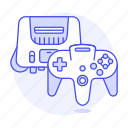 consoles, controller, game, nintendo, retro, video, vintage icon