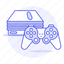 consoles, game, playstation, ps2, video icon