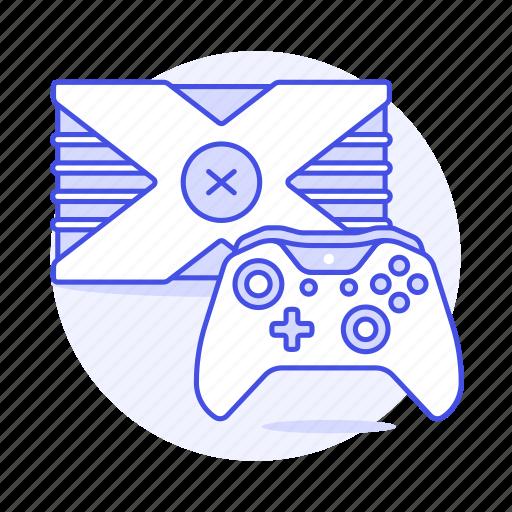 consoles, controller, game, video, xbox icon