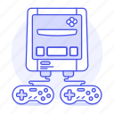 consoles, controller, eu, european, famicom, game, nintendo, snes, super, video icon