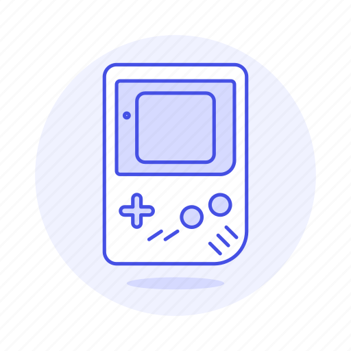 color, consoles, game, gameboy, old, portable, retro, video, vintage icon