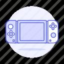 1, analog, consoles, controller, game, joy, nintendo, portable, stick, switch, video icon