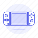 2, analog, consoles, controller, game, joy, nintendo, portable, stick, switch, video icon