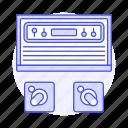 2, atari, consoles, controller, game, joystick, pacman, retro, video, vintage icon