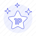 1st, badge, competition, egames, esports, game, medal, place, player, star, video, winner
