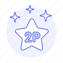 2nd, badge, competition, egames, esports, game, medal, place, player, star, video, winner