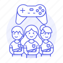 teammate, group, esports, team, video, league, championship, game, egames, female