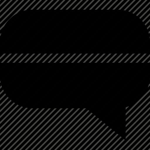 chat, conversation, talk, texting icon