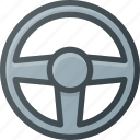 drive, game, play, simlator, video, wheel icon