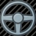 wheel, play, drive, game, simlator, video icon