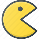 game, pacman, play, video icon