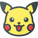 game, pikachu, play, pokemon, video icon