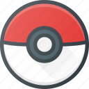 game, play, pokeball, pokemon, video icon