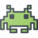 game, invadors, play, space, video icon