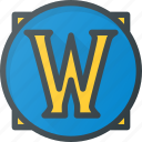 game, of, play, video, warcraft, world, wow icon