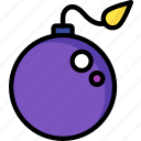 bomb, game, gamer, interactive icon