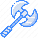 axe, game, gamer, interactive icon