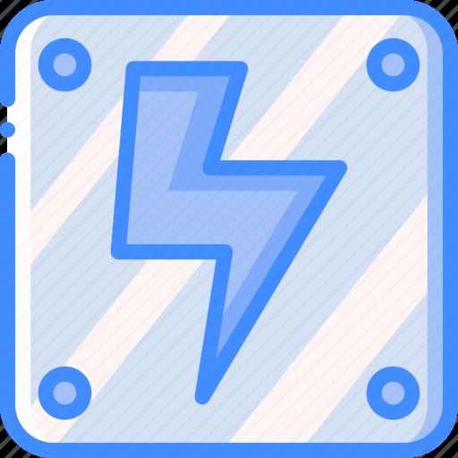 game, gamer, interactive, lightning icon