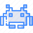game, gamer, interactive, invader, space icon