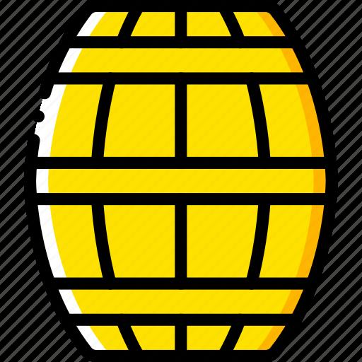 barrel, game, gamer, interactive icon