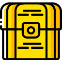 chest, game, gamer, interactive, treasure icon