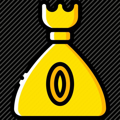 coin, game, gamer, interactive, purse icon