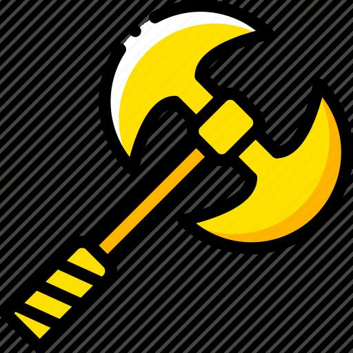 axe, game, gamer, interactive icon